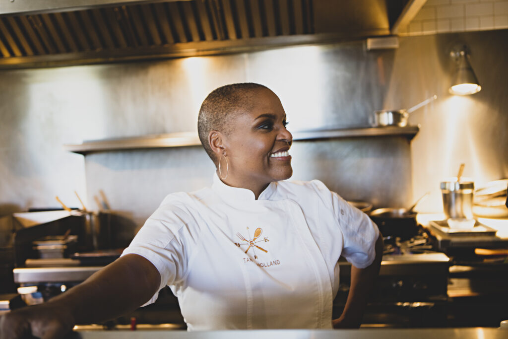 Chef Tanya Holland Cooking And Conversation Love Letters Left On The Table Haute Living San Francisco